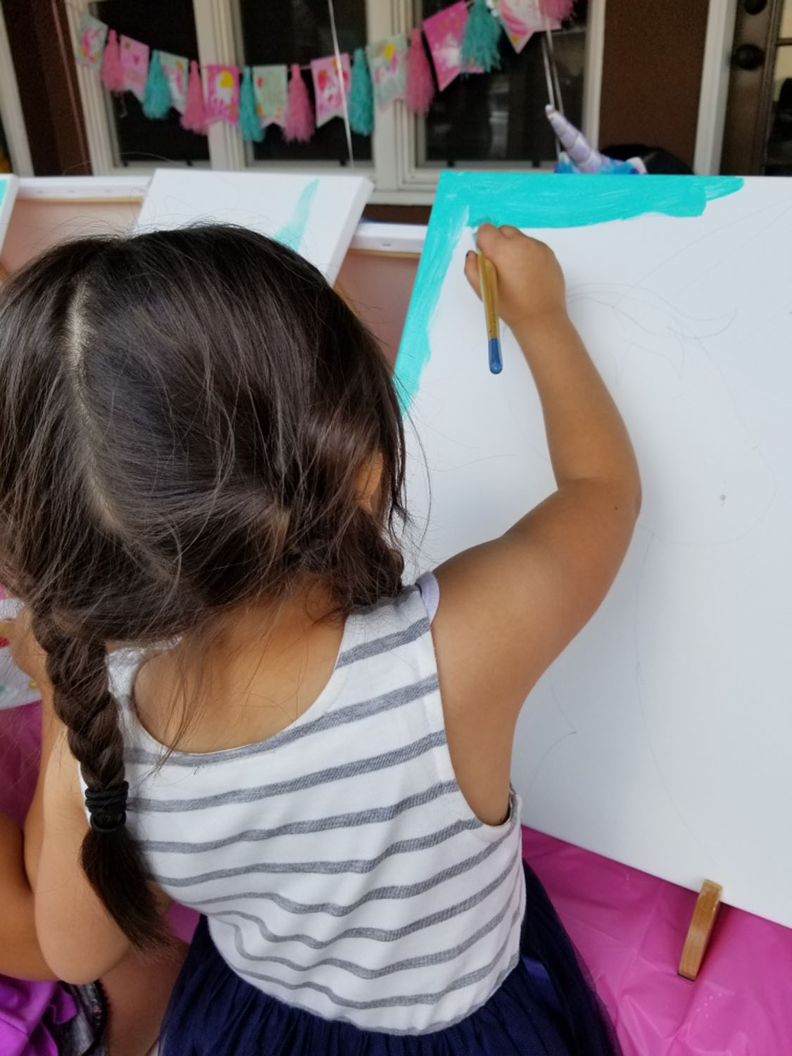 Birthday parties - Painting event